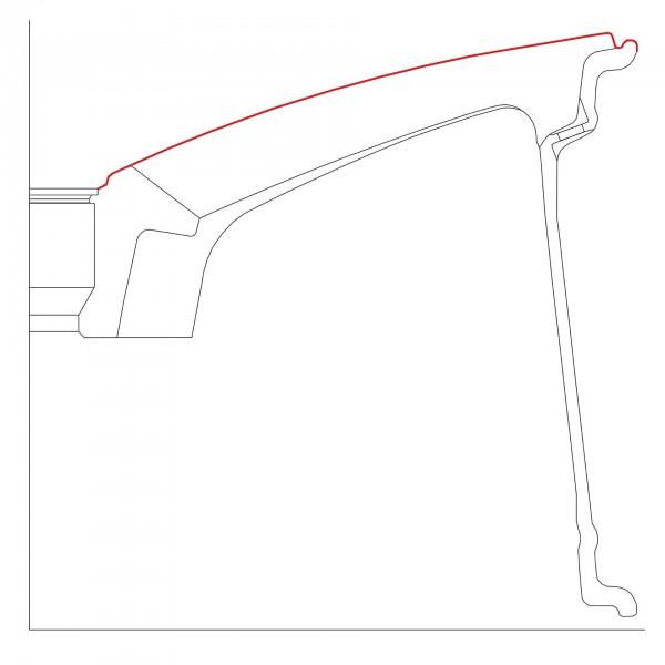 Kontur CNC-MERCEDES-AMG-75-19-ET44