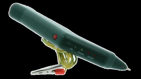 Erdungstester für die Pulverbeschichtung